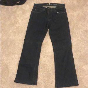 Seven for all man kind dress jeans